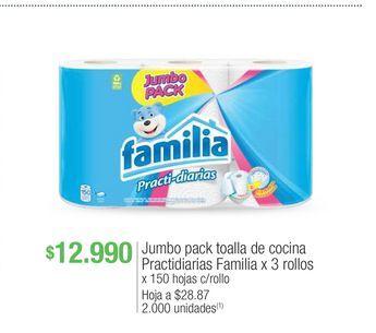 Oferta de Toalla de cocina Familia por $12990