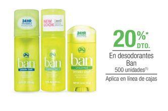 Oferta de Desodorante Ban por