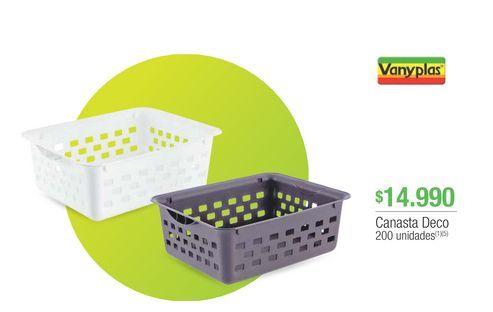 Oferta de Cesta vanyplast por $14990