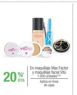Oferta de Maquillaje Max Factor por