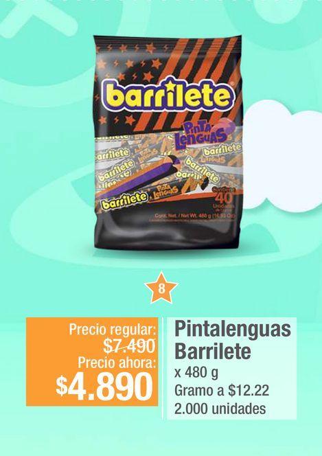 Oferta de Pintalenguas Barrilete por $4890