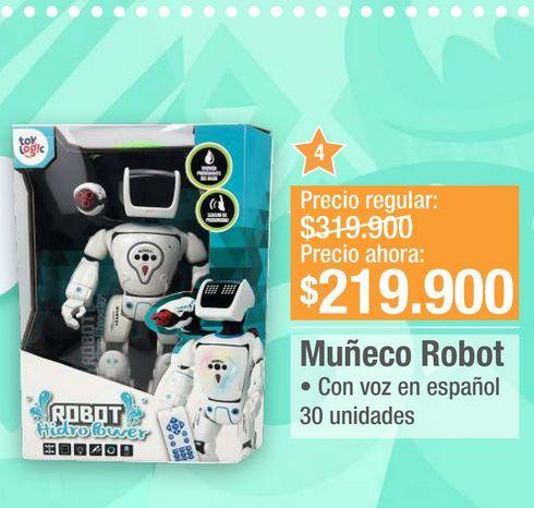 Oferta de Muñeco Robot por $219900
