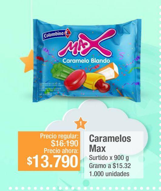 Oferta de Caramelos Max por $13790