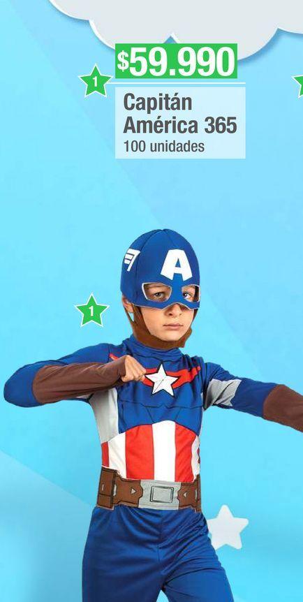 Oferta de Disfraces Marvel Capitan America 365 por $59990