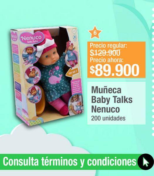 Oferta de Muñecas Baby Talks  por $89900
