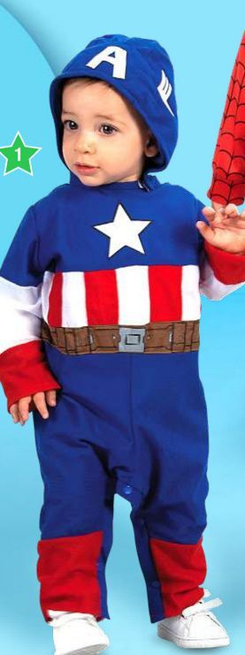 Oferta de Disfraces para bebé Marvel capitan america por $649990