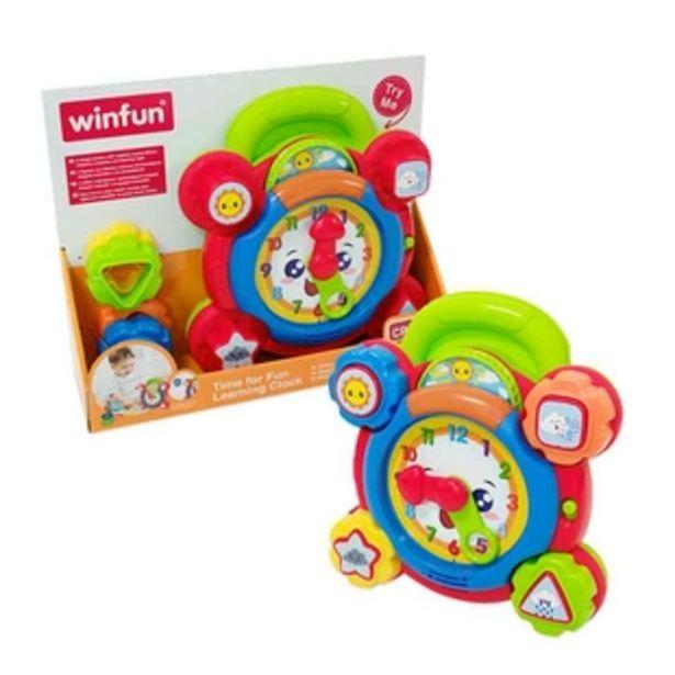 Oferta de Reloj Educativo con Luz y Sonido WINFUN por $52430
