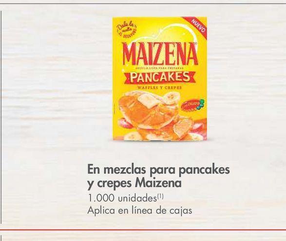 Oferta de En mezclas para pancakes y crepes Maizena  -20% por