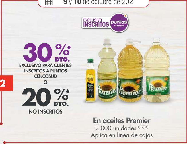 Oferta de En aceites Premier por