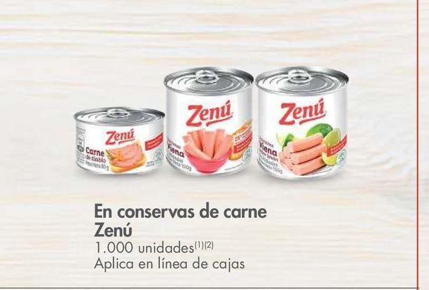 Oferta de En conservas de carne Zenú -20% dto por