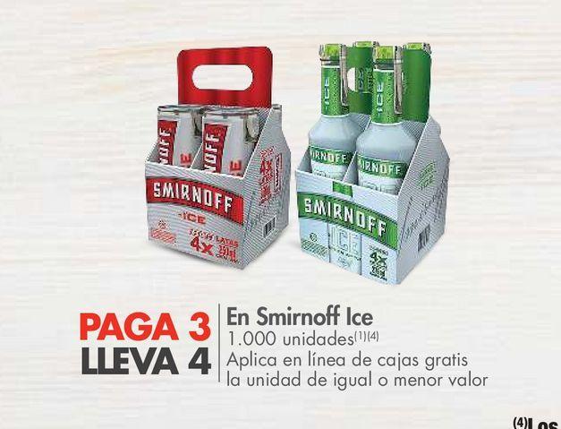 Oferta de En Smirnoff Ice por