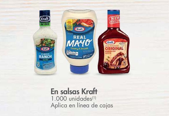 Oferta de En salsas Kraft -20% por