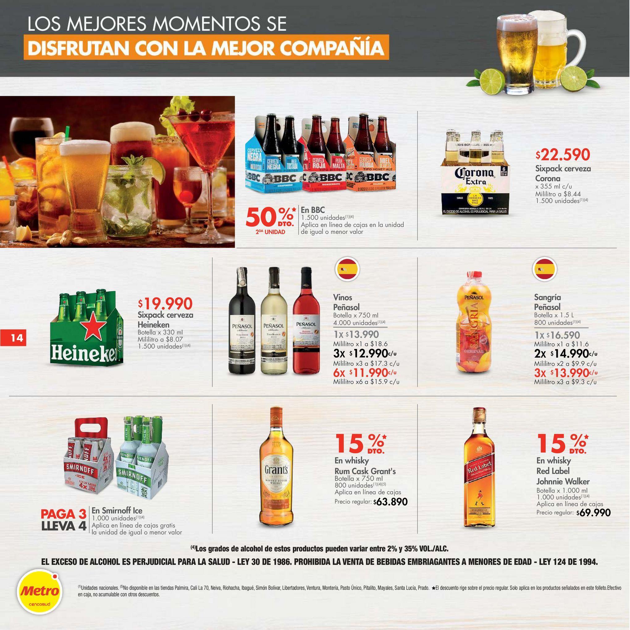 Oferta de Cerveza Heineken por