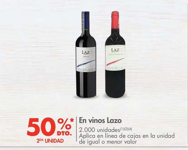 Oferta de En vinos Lazo por