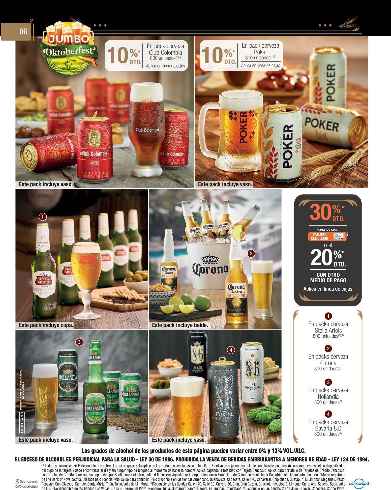 Oferta de Cerveza por