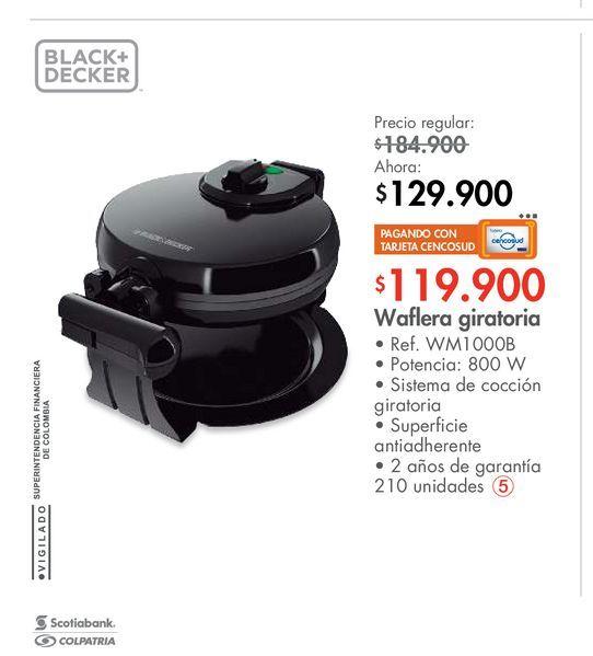Oferta de Waflera giratoria por $129900