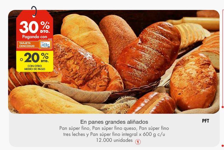 Oferta de En panes grandes aliñados por