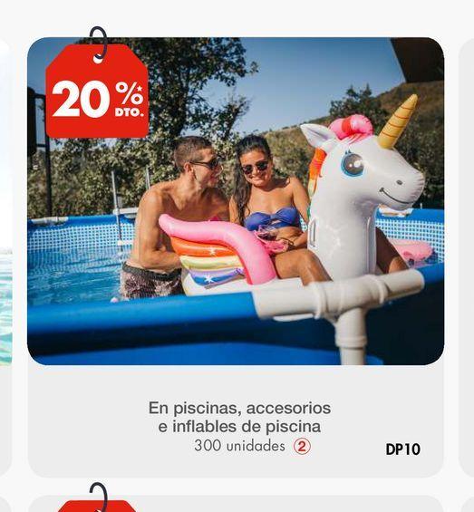 Oferta de En piscinas, accesorios e inflables de piscina por