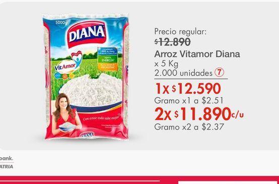 Oferta de Arroz Vitamor Diana por $12590