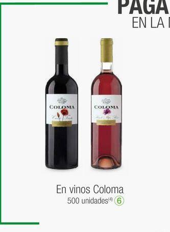 Oferta de Vino coloma por