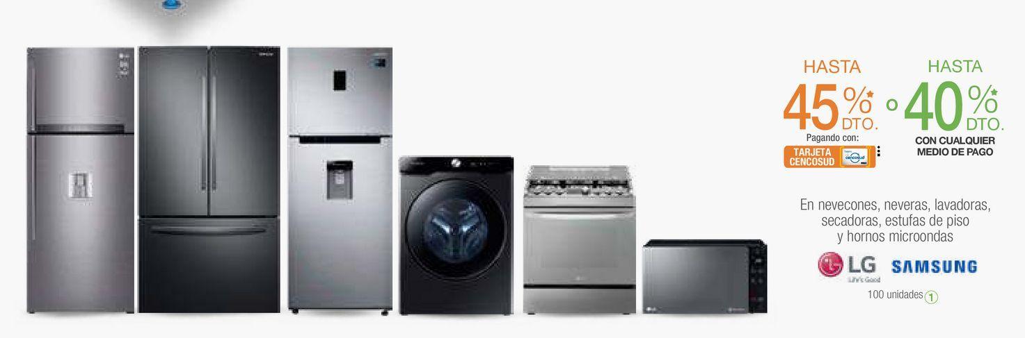Oferta de Electrodomésticos por