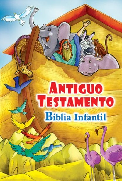 Oferta de BIBLIA INFANTIL ANTIGUO TESTAMENTO por $22900