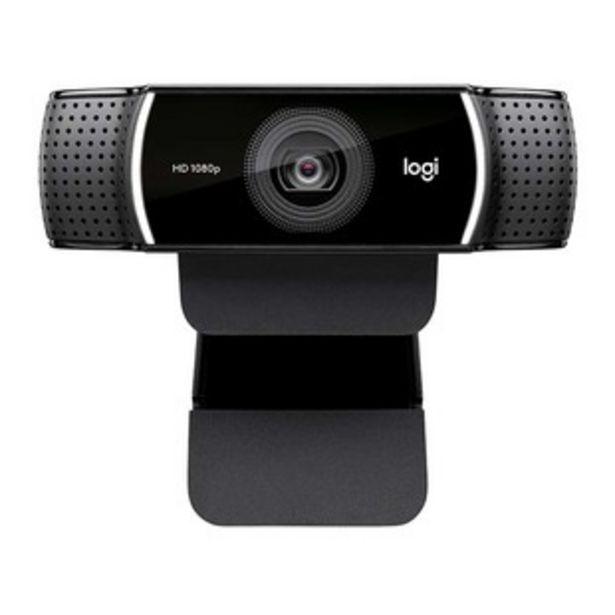 Oferta de Cámara Web LOGITECH HD Pro Stream C922 por $299900