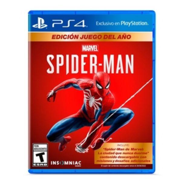Oferta de Juego PLAYSTATION  PS4 Spiderman Goty - LATAM por $99900