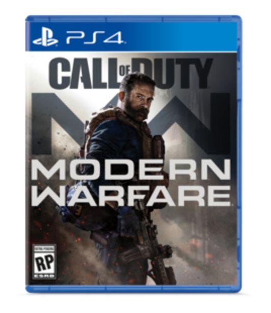 Oferta de Juego PLAYSTATION 4 Call Of Duty MW por $124900