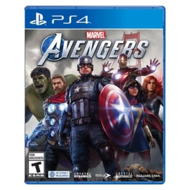 Oferta de Juego PLAYSTATION  PS4 Avengers - LATAM por $134900