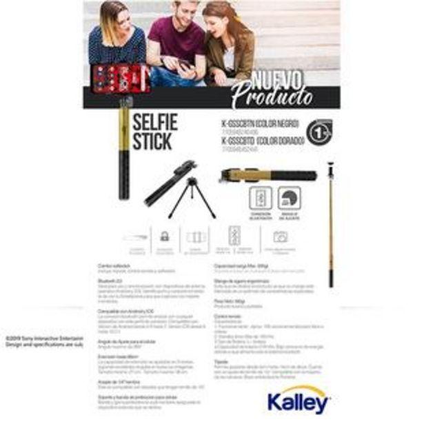 Oferta de Combo KALLEY Selfie Stick + Trípode Dorado K-GSSCBTD por $55900