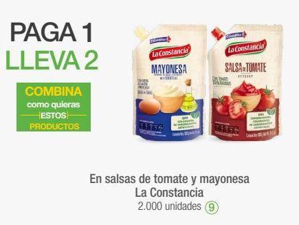 Oferta de En salsas de tomate y mayonesa La Constancia por