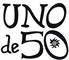 Logo Uno de 50