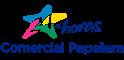 Logo Comercial Papelera